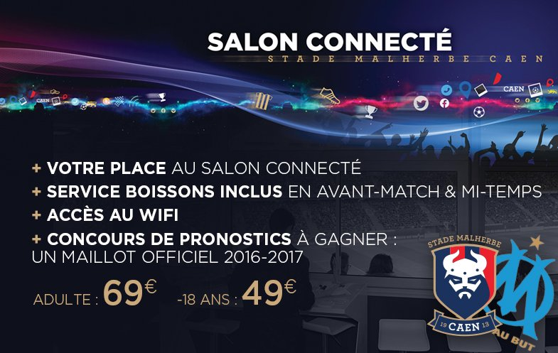 [35e journée de L1] SM Caen 1-5 O Marseille Salon_connecte