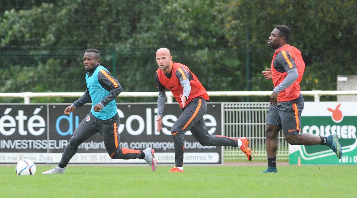 [10e journée de L1] Stade de Reims 0-1 SM Caen  Action_11