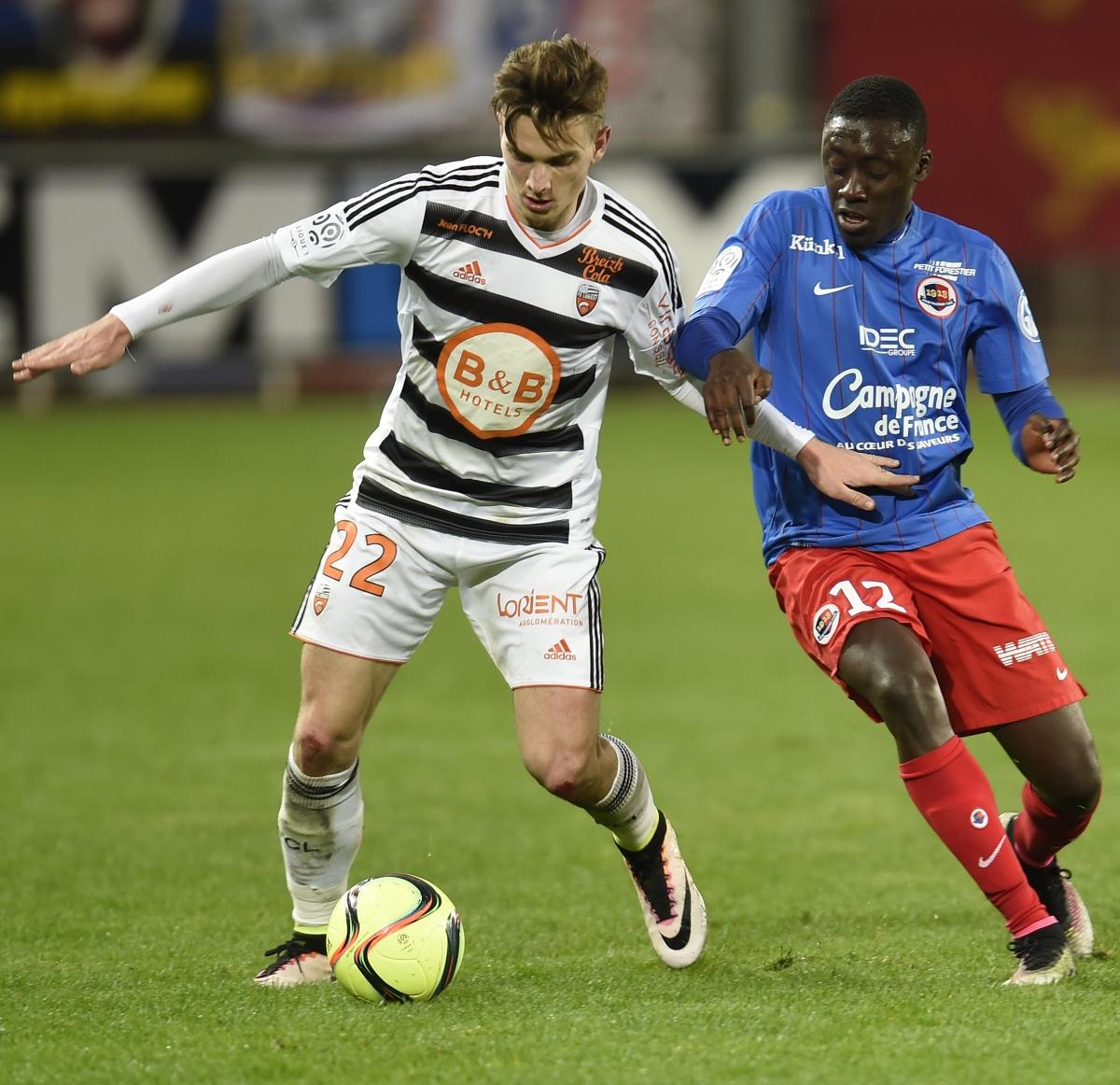 [1e journée de L1] SM Caen 3-2 FC Lorient Appiah_jeannot