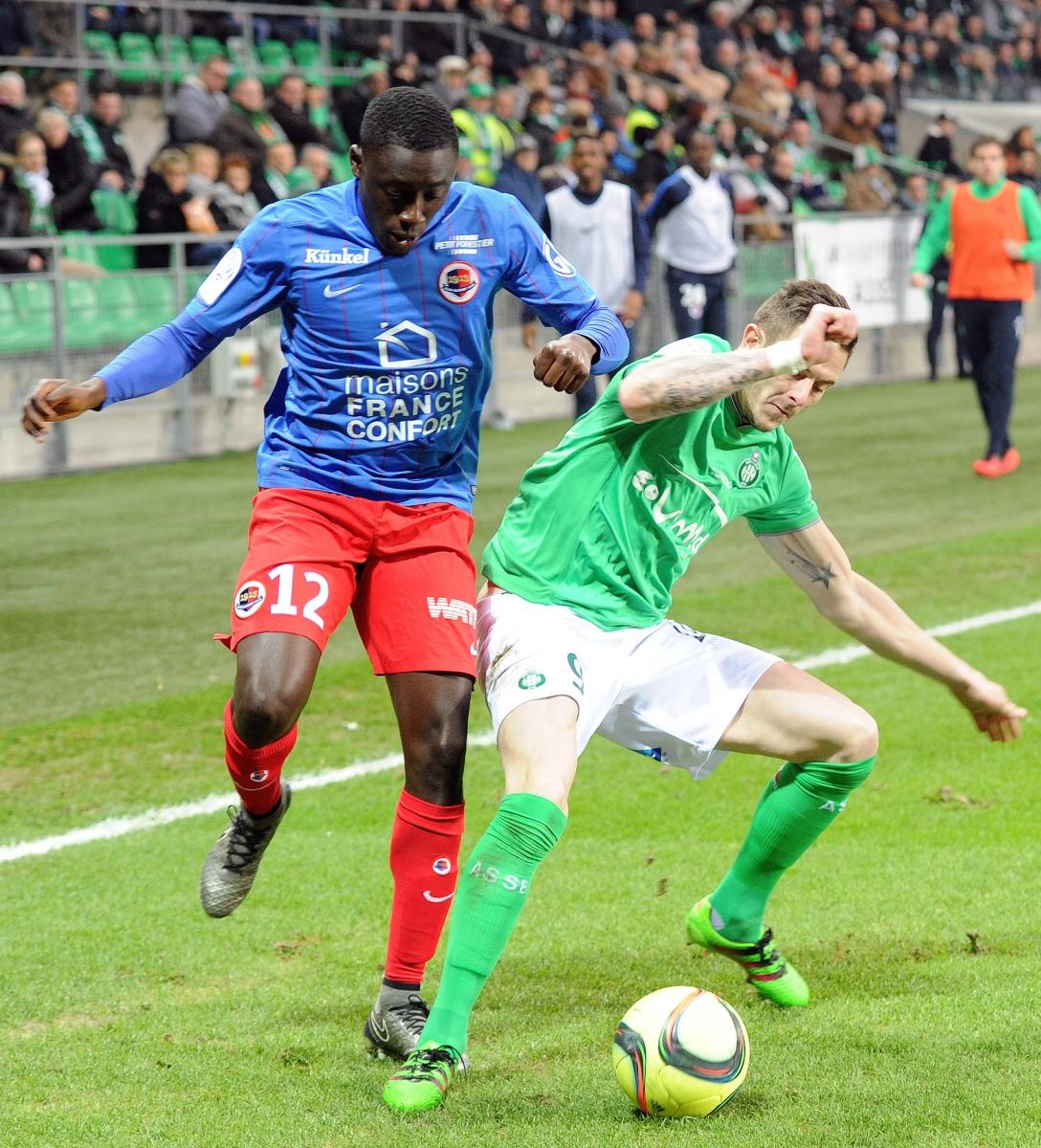 [27e journée de L1] AS Saint Etienne 0-1 SM Caen Appiah_roux_3_0