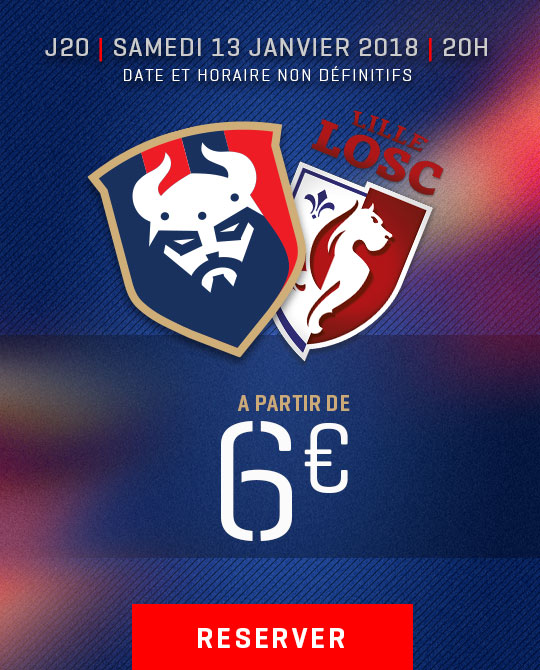 Billetterie Caen /LOSC
