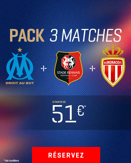 Pack 3 matches