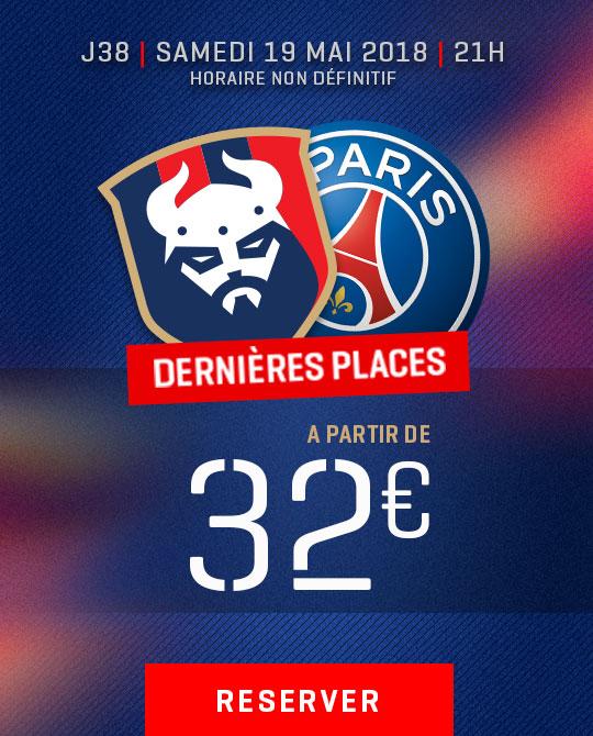 Billetterie Caen / PSG