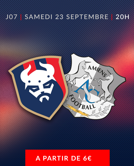 Billetterie SM Caen / Amiens