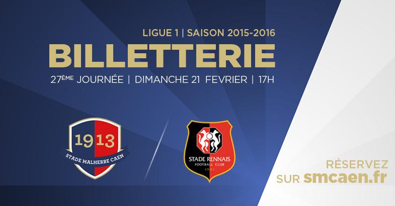 [27e journée de L1] SM Caen 1-0 Stade Rennais B_gp_rennes_echo_rs