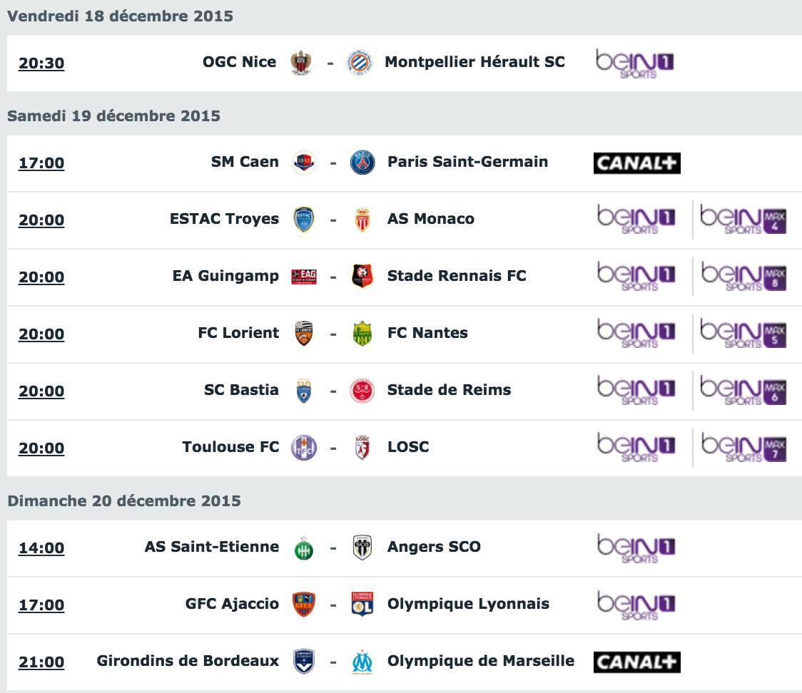 [19e journée de L1] SM Caen 0-3 Paris SG Capture_decran_2015-12-16_a_08.33.14_0