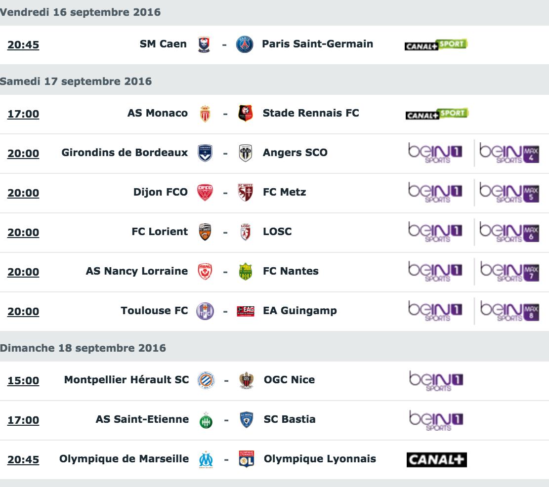 [5e journée de L1] SM Caen 0-6 Paris SG Capture_decran_2016-09-14_a_08.51.22