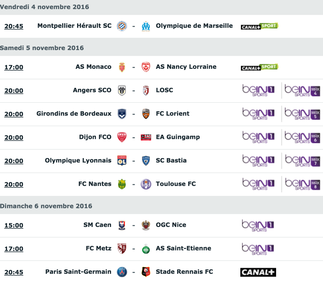 [12e journée de L1] SM Caen 1-0 OGC Nice Capture_decran_2016-11-03_a_14.44.10