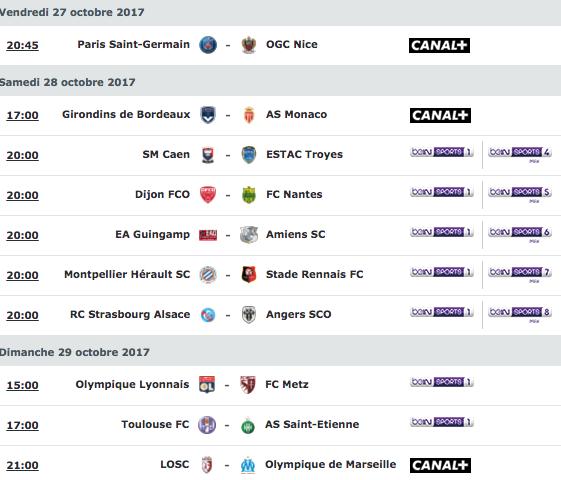 [11e journée de L1] SM Caen 1-0 ESTAC Troyes Capture_decran_2017-10-25_a_12.58.09