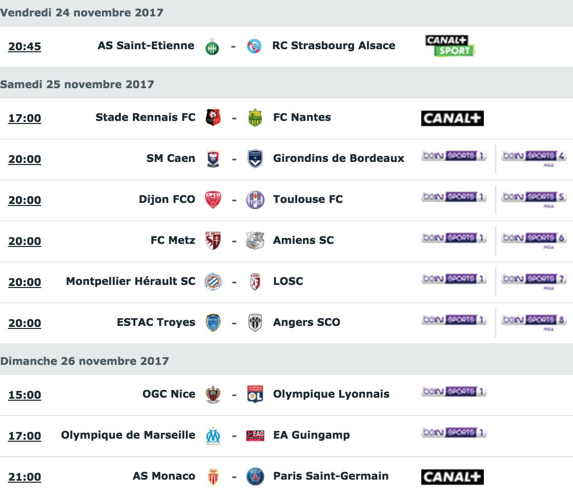 [14e journée de L1] SM Caen 1-0 FC Girondins de Bordeaux Capture_decran_2017-11-22_a_10.54.34