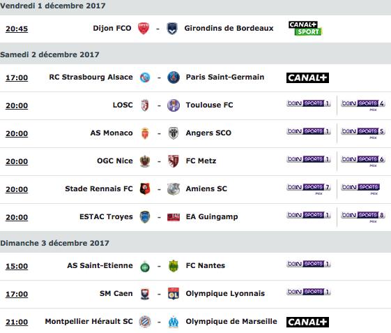 [16e journée de L1] SM Caen 1-2 O Lyon Capture_decran_2017-11-30_a_16.17.59