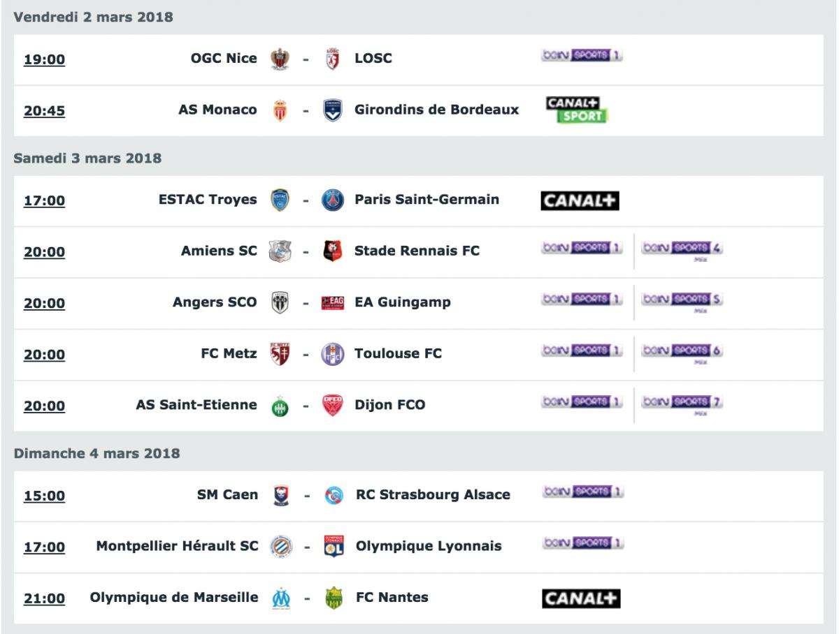 [28e journée de L1] SM Caen 2-0 RC Strasbourg Capture_decran_2018-03-02_a_21.28.44
