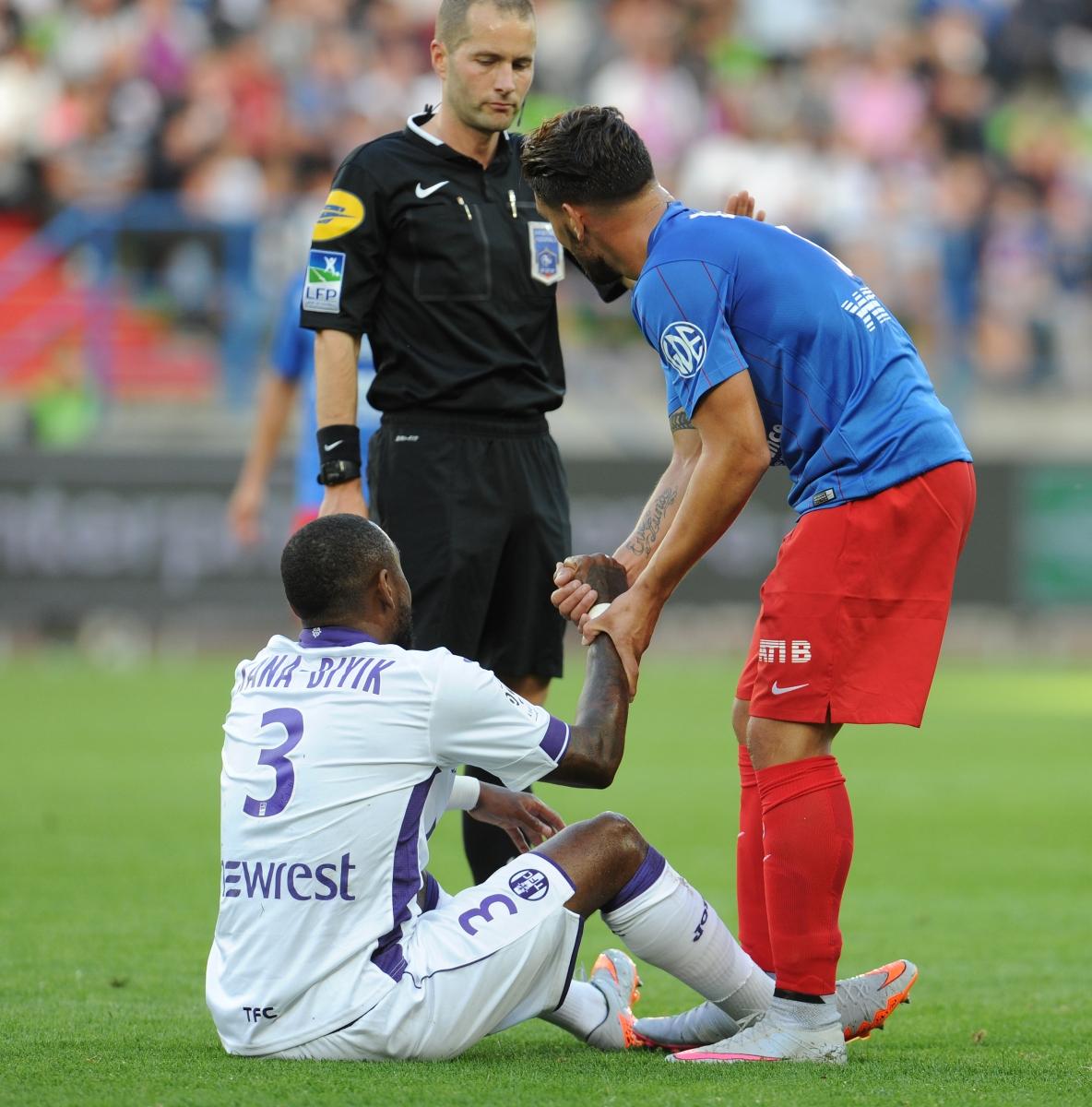 [24e journée de L1] Lille OSC 1-0 SM Caen  Fair_play