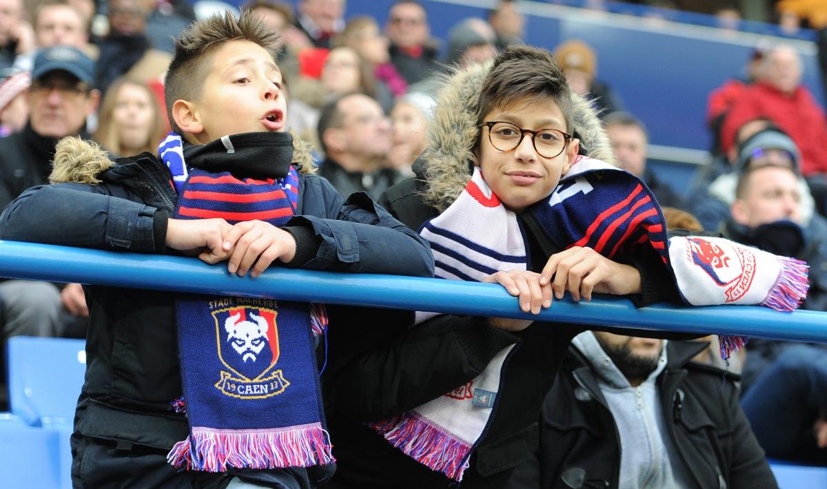 [26e journée de L1] SM Caen 0-1 Lille OSC Jeunes_supporters_caen_1