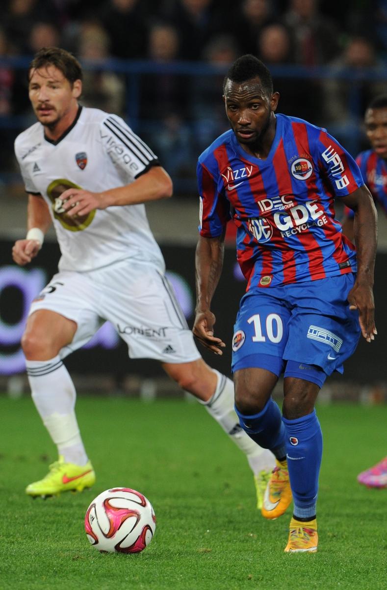 [33e journée de L1] SM Caen 1-2 FC Lorient Nangis_1_0