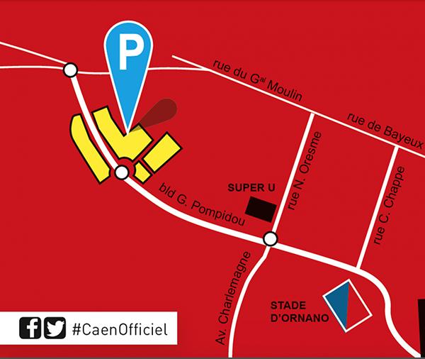 [33e journée de L1] SM Caen 1-2 FC Lorient Parking