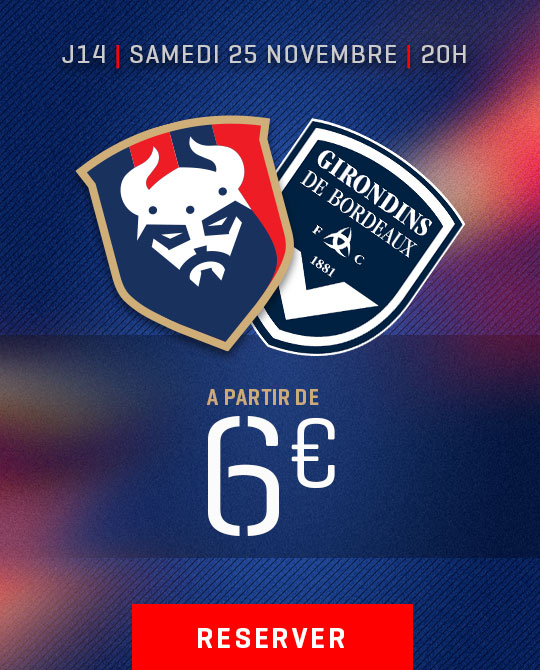 Billetterie Caen / Bordeaux