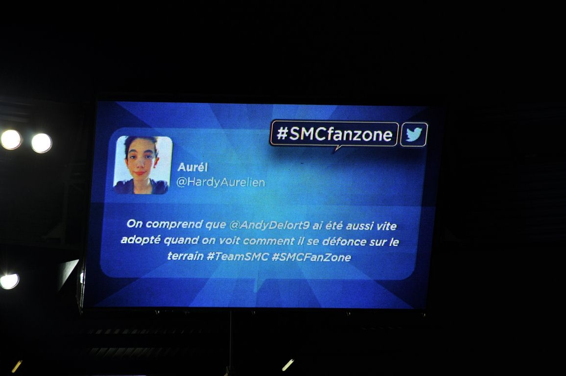 la smc fanzone de caen toulouse photos beno t hinard r sum de match interviews smc. Black Bedroom Furniture Sets. Home Design Ideas