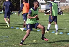 Contre le Togo, Chaker Alhadhur a vu son penalty repoussé par le gardien des Eperviers.