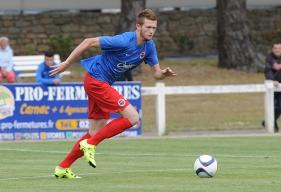 Hormis les matches de préparation et amicaux, Florian Le Joncour qui va aller s'aguerrir à Avranches a joué uniquement avec la réserve du Stade Malherbe en CFA2 cette saison.