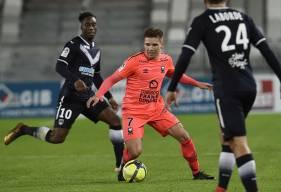 """Convoqué pour la première fois dans les """"18"""", Timo Stavitski a été aligné d'entrée par Patrice Garande contre Bordeaux."""