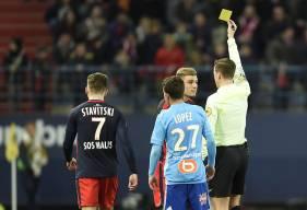 Ayant reçu contre Marseille un troisième avertissement en moins de dix matches, Frédéric Guilbert sera suspendu pour la réception de Nantes, dimanche 4 février (J24).