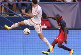 Pour leur troisième match de préparation, Mouhamadou Dabo et les Caennais affronteront - mercredi 19 juillet - Lorient au stade Louis-Villemer à Saint-Lô.