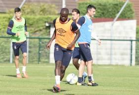 Lors de l'opposition de cet après-midi contre la réserve, Ismaël Diomandé a ouvert le score. ©Photo d'archives