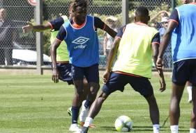 Avec les Diables Rouges congolais, Durel Avounou était titulaire contre le Bénin.