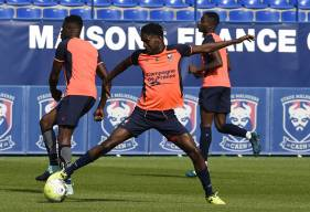 Présent sur la feuille de match, Durel Avounou n'a pas participé au dernier match du Congo lors des qualifications au Mondial 2018.