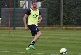 """Pour la première fois de la saison, Florian Le Joncour a été convoqué dans les """"18"""" par Patrice Garande."""