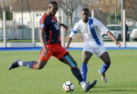 Issa Marega et les réservistes caennais auront une dernière opportunité en 2017 d'inverser cette dynamique négative avec la réception du FC Rouen samedi prochain. ©Photo d'archives