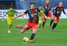 Les huit buts marqués par Ivan Santini cette saison ont contribué à rapporter18 points au club normand.