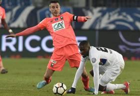 Rigoureux défensivement et efficaces sur le plan offensif, Julien Féret et les Caennais ont éliminé Tanguy Ndombélé et les Lyonnais de la Coupe de France.