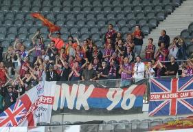 Déjà très présent dans les travées du stade Pierre-Mauroy à Lille le Malherbe Normandy Kop organise un déplacement pour le match à Nantes le 16 septembre.