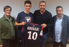 """""""Nous sommes, bien évidemment, très fiers de la confiance que les parents de Naël ont placée dans le projet de notre club"""", se félicite Xavier Gravelaine, le directeur général du Stade Malherbe."""
