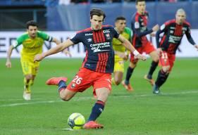 Contre Nantes, Ivan Santini a conforté son statut de meilleur buteur du Stade Malherbe en inscrivant sa huitième réalisation de la saison en championnat ; la cinquième sur penalty !