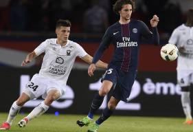 Le Stade Malherbe de Frédéric Guilbert se déplacera au Parc des Princes pour affronter le PSG d'Adrien Rabiot mercredi 20 décembre.