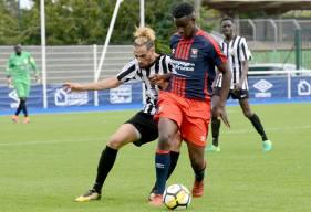 En seconde période, Makan Macalou - le jeune attaquant du Stade Malherbe - a signé un triplé contre le SU Dives-Cabourg. ©Photo d'archives