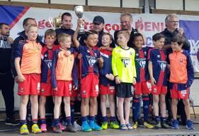 Les U10 du Stade Malherbe entraînés par Paul Martin ont remporté le Tournoi de Verson.