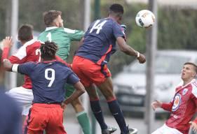 Contre leurs homologues d'Avranches, les U19 nationaux du Stade Malherbe n'ont pas trouvé la faille. ©Photo d'archives
