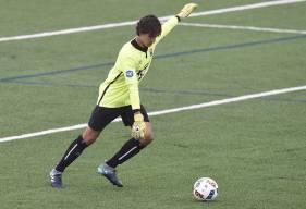 En première période, Yassine Gueddar a détourné un penalty permettant à son équipe de préserver ses cages inviolées.