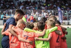 """Tristan Blanchard et ses U11 s'apprênt à affronter les meilleurs équipes U11 de """"basse-normandie"""" pour le traditionnel plateau d'évaluation de début de saison"""