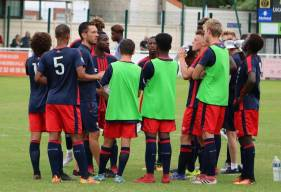 Matthieu Ballon et les U17 Nationaux vont tenter d'aligner une 4ème victoire de suite avec la réception du RC Lens samedi après-midi