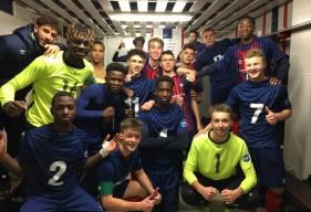 Les U17 Nationaux du Stade Malherbe Caen occupent la première place du classement depuis plus de deux mois