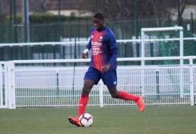 Joé Kobo a trouvé la lucarne du but de l'ASPTT Caen pour offrir la victoire à l'équipe réserve après un coup-franc excentré