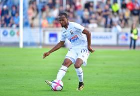 """Chaker Alhadhur a effectué l'intégralité de la préparation avec le Stade Malherbe Caen mais n'est jamais apparu en Ligue 1 Conforama cette saison avec les """"rouge et bleu"""""""