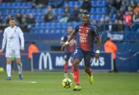 Avec 42 sprints effectués face à Strasbourg, le Caennais Casimir Ninga a été le joueur le plus actif dans ce domaine lors de cette rencontre.