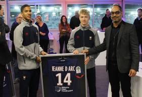 Le centre de formation du Stade Malherbe a signé de nouvelles conventions avec les lycées caennais dont le lycée Jean-d'Arc