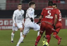 Entré en jeu à 30 minutes de la fin la saison dernière, Timo Stavitski n'avait pas pu empêcher la défaite des Caennais (2-0) sur le terrain du Dijon FCO